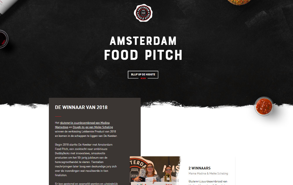 Amsterdam Food Pitch